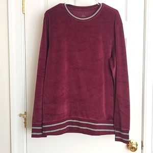 *CLEARANCE* EUC M Velour Tunic/Pullover